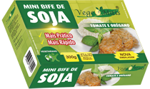 Mini Bife de Soja -