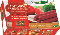 Vege Frank Hot Dog - Salsicha de Soja -